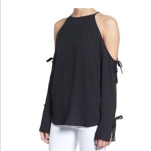 Trouve cold shoulder blouse